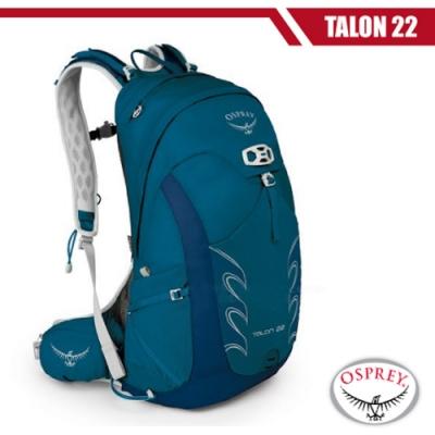 OSPREY 新款 Talon 22 極輕量健行登山背包_群青藍 R