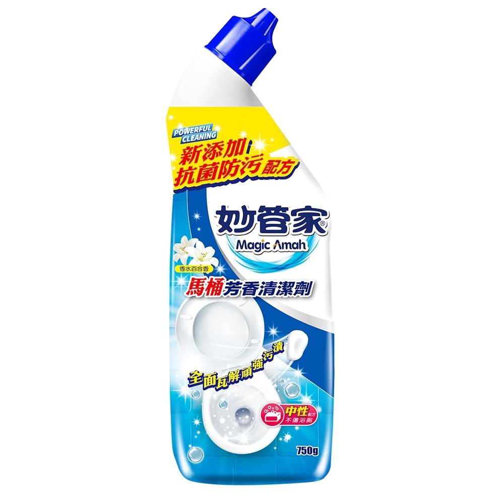 【妙管家】馬桶芳香清潔劑-香水百合750g