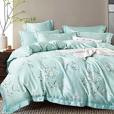 Ania Casa 花語露 天絲 100% TENCEL 特大鋪棉兩用被套床包四件組