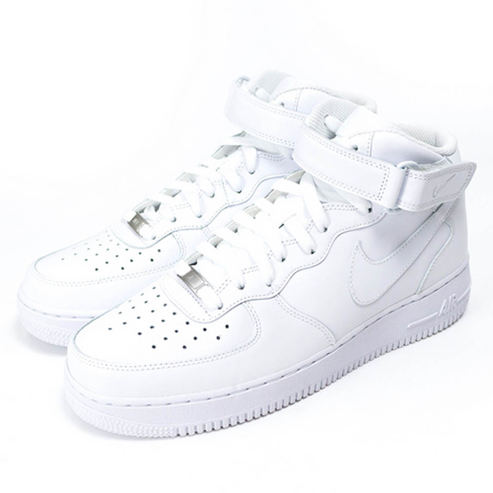NIKE AIR FORCE 1 MID 07 男休閒鞋 315123111 白