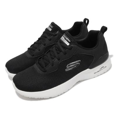 Skechers 慢跑鞋 Skech-Air Dynamight 女鞋 氣墊 避震 緩衝 支撐 球鞋穿搭 黑 白 149346BKW