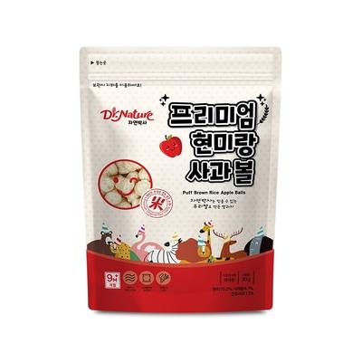 韓國【Dr.Nature】米博士 動物嘉年華 蘋果球球餅(30g)