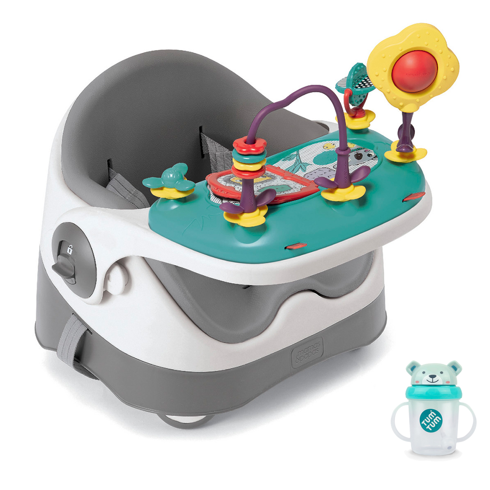 【Mamas & Papas】三合一都可椅/餐椅含玩樂盤-霧都灰(CF)