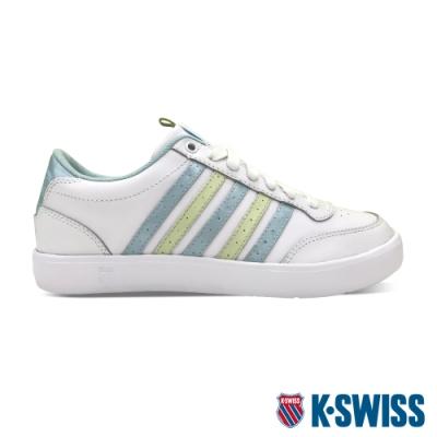 K-SWISS Court Lite CMF時尚運動鞋-女-白/粉藍/粉綠