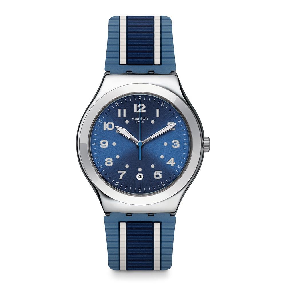 Swatch BLUORA 藍色格調手錶