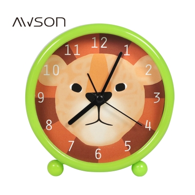 AWSON鬍鬚家族小鬧鐘(綠)AWK6005G