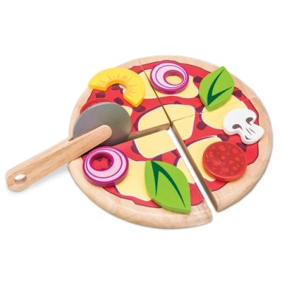 英國 Le Toy Van 角色扮演系列-義大利披薩玩具組
