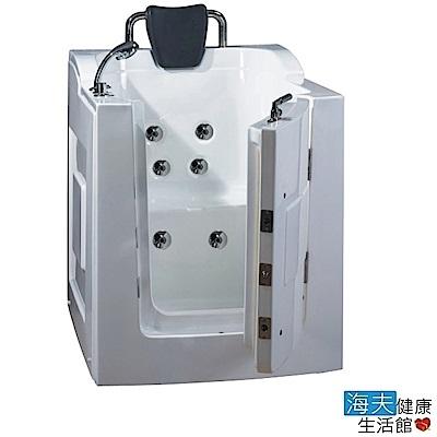 海夫健康生活館 開門式浴缸 101B-T 恆溫水柱按摩款 (105*85*108cm)