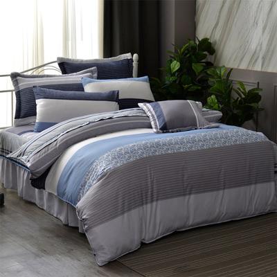 羽織美 和風意境 舒柔綿雙人八件式兩用被床罩組