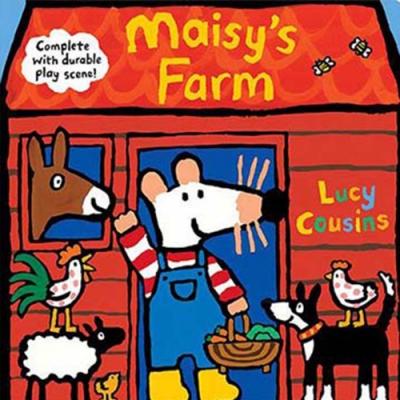 Maisy s Farm 小鼠波波的農場硬頁書(美國版)