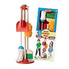 (時時樂限定) 美國瑪莉莎 Melissa & Doug 角色扮演 - 幼兒掃地清潔工具組