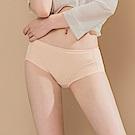 無痕透氣超健康竹炭包臀中腰M-XL內褲 晚安輕吻 可蘭霓Clany