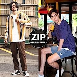 迎接夏日↘ZIP襯衫短褲2