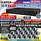 【CHICHIAU】H.265 16路DTV 800萬 5MP台製iCATCH數位雙硬碟款監控錄影組(含高清1080P SONY 200萬攝影機x16) product thumbnail 1
