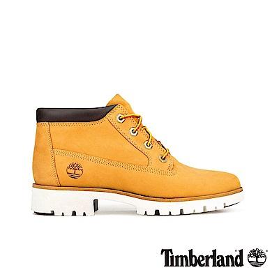 Timberland 女款小麥色磨砂革經典靴|A1XF7