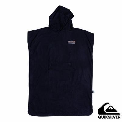 【QUIKSILVER】MINIPACK TOWEL 浴巾衣 黑色
