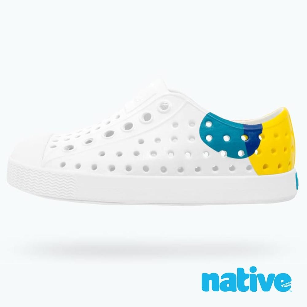 native 大童鞋 JEFFERSON 小奶油頭鞋-活力普普風