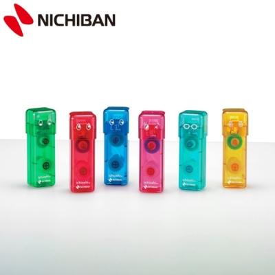 日本NICHIBAN 印章式雙面膠按壓式豆豆貼  (TN-TEI系列)