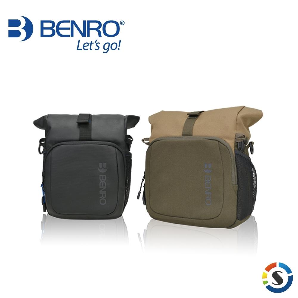 BENRO百諾 Incognito S10 微行者系列攝影單肩包(黑/卡其)