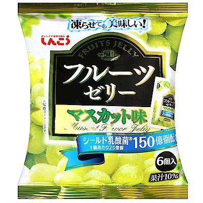 SHINKO 水果果凍-白葡萄風味(120g)