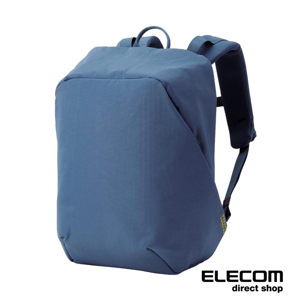 ELECOM ESCODE防盜電腦後背包-藍