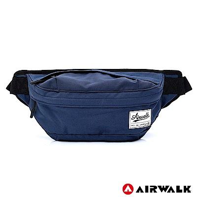 AIRWALK-都會輕騎休閒側背包-藍