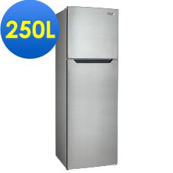SAMPO聲寶 250L 2級定頻2門電冰箱 SR-B25G 不銹鋼色