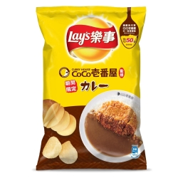 樂事洋芋片 豬排咖哩味(81g)
