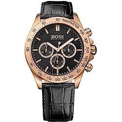 Hugo Boss Black流行時尚計時腕錶/1513179