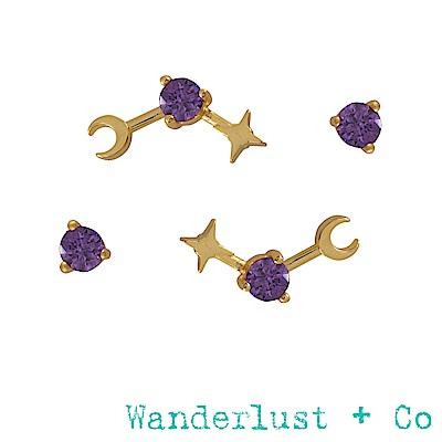 Wanderlust+Co 生日石系列- 七月耳環