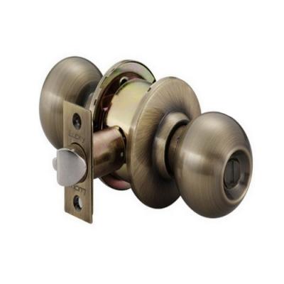 加安牌 C3810 青古銅 60 mm 喇叭鎖 浴室鎖 廁所鎖 更衣室鎖 門鎖 把手鎖
