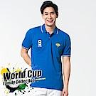 bossini男裝-短袖圓領運動風POLO衫01湖水藍