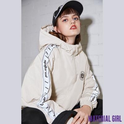 MATERIAL GIRL 怪獸大學反光拼接羽絨外套【20冬季款】-A4202