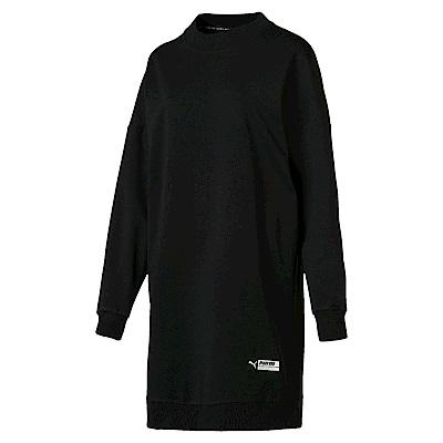 PUMA-女性流行系列Trailblazer連身裙-黑色-歐規