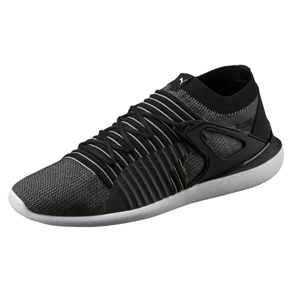 PUMA-SFEvoCatSockLaceNight男女賽車運動鞋-黑色