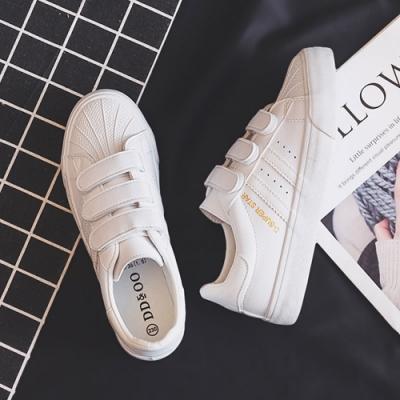韓國KW美鞋館 明星同款柔美愛戀休閒小白鞋-白
