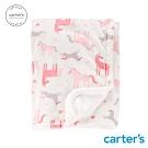carter's台灣總代理 粉嫩獨角獸包巾