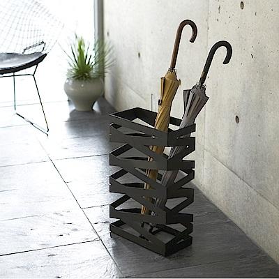 【YAMAZAKI】搖滾造型傘架(加寬型)-黑★雨傘筒/雨傘桶