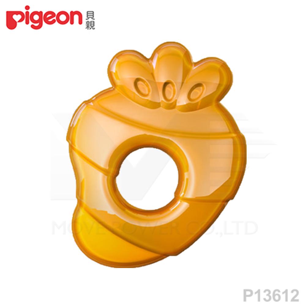 【任選】日本《Pigeon 貝親》冰涼固齒器(蘿蔔)