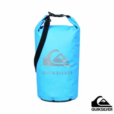 【QUIKSILVER】MEDIUM WATER STASH 防水背包 藍色