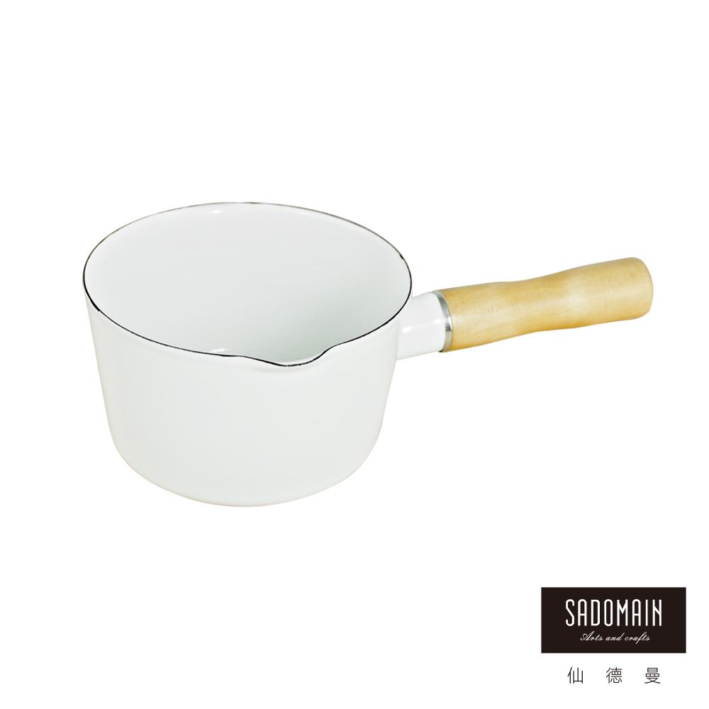 仙德曼 SADOMAIN 迷你獨享琺瑯牛奶鍋-12cm