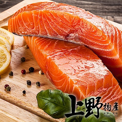 上野物產 智利鮭魚切片 x40片(100g土10%/片)