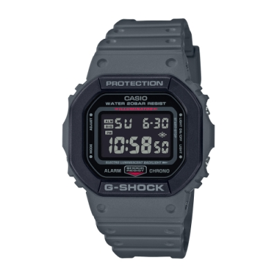CASIO卡西歐 G-SHOCK 軍事風格 雙層錶圈 DW-5610SU-8_43.8mm