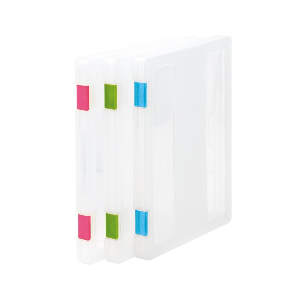 【樹德 livinbox】隨意文件盒- A4-3入組 (不挑色) OF-A03