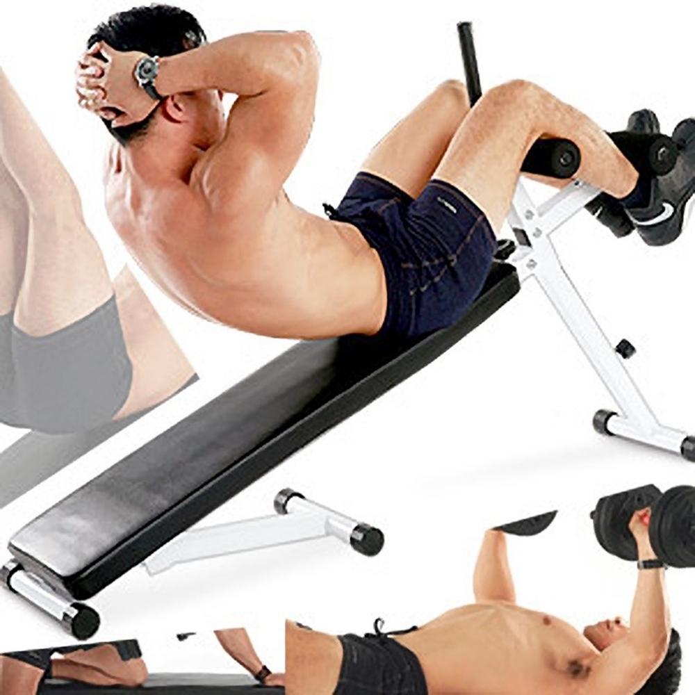 可調整雙角度仰臥起坐板 仰臥板啞鈴椅