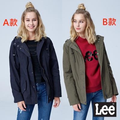 [時時樂限定] Lee 連帽防風外套獨家優惠$990