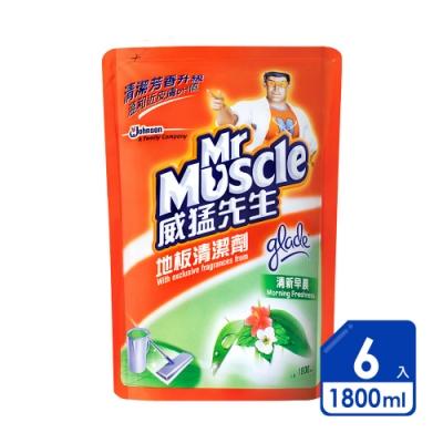 威猛先生 地板清潔劑1800ml清新早晨(6入/箱)