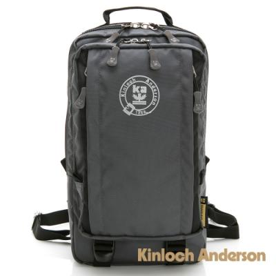 【金安德森】極限機能 3Way防潑水多層收納正方後背包-灰黑