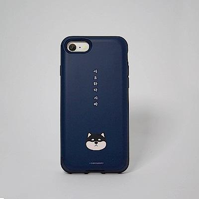 Shiro&Maro(深藍Maro款)隨身帶卡片手機殼