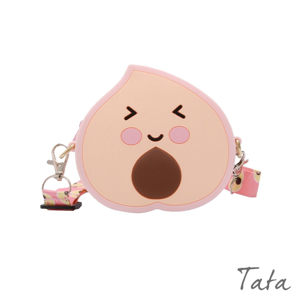 童裝 可愛桃子肩背包 TATA KIDS